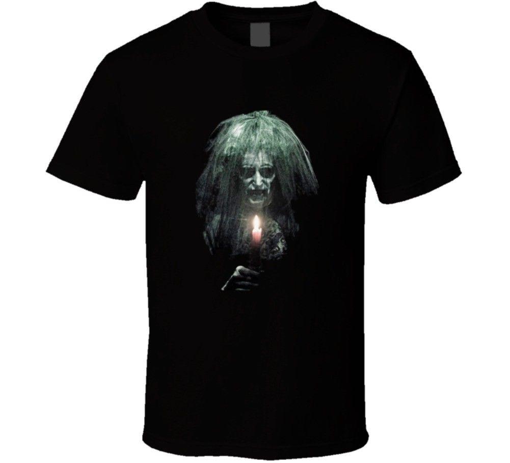 Insidious The Last Key Horror Thriller Scary Movie Fan T Shirt Summer Short Sleeves Cotton Fashion t Shirt