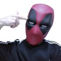 Deluxe Deadpool 2 Mask Avengers Helmet Cosplay Full Head Helmet movie Deadpool Masks Halloween Party Collection Adult Funny Prop