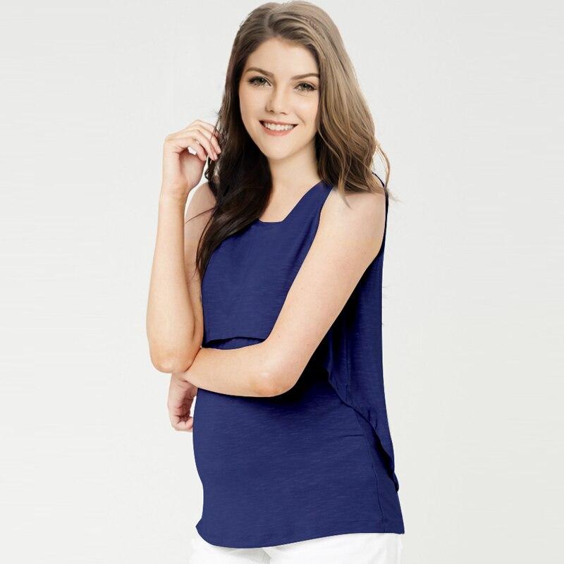 49c20fbb9dc2c Summer Fashion Cotton Maternity Nuring T-shirt Breastfeeding Top Tees  Clothing For Pregnant Women Pregnancy Nurse Wear 2017 New   The Brand Shop