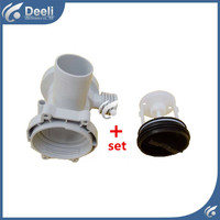 1set For Washing Machine Filter Drainage Pump Cover Filter Waste Water Cap Filter Plug