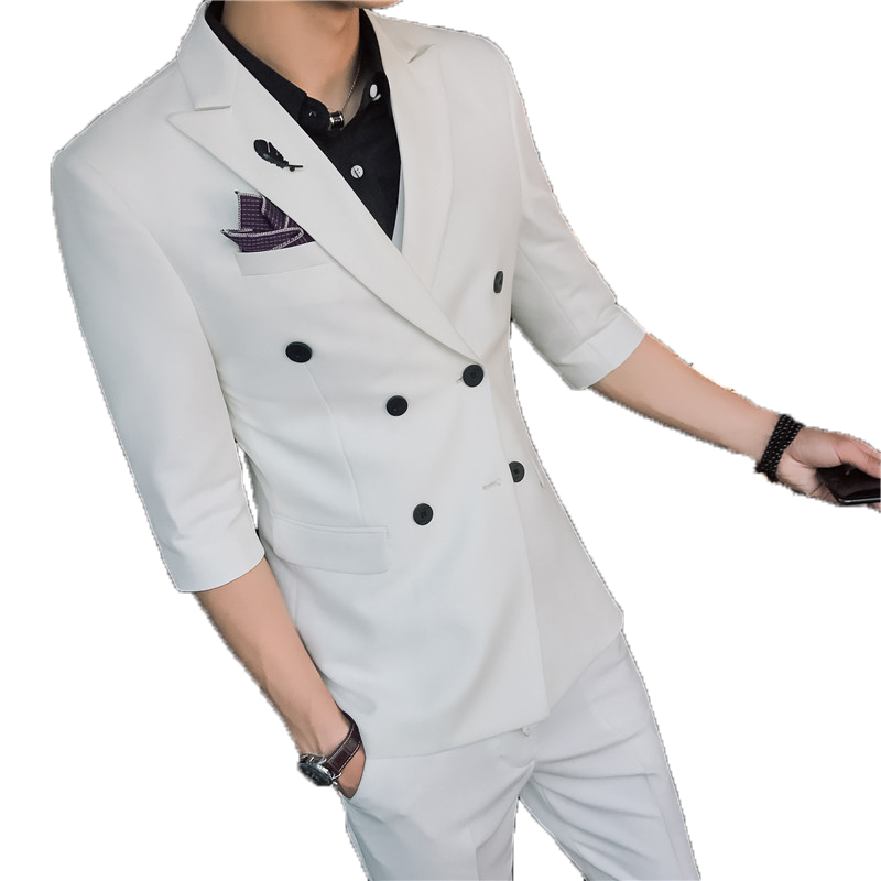 Custom Made Black Slim Fit Men Wedding Suite Groom Tuxedos Suits Herringbone Retro Gentleman Suits Formal Party Suits 4