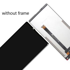 Image 2 - 6,0 дюймов Vernee Mix 2 ЖК дисплей Дисплей + сенсорный экран Экран + рамка 100% оригинал испытания планшета Стекло Панель Замена для Mix 2