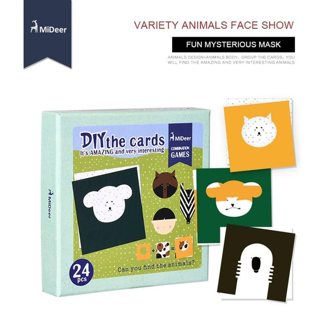 cardboard radio aliexpresscom buy mideer diy animal mask 3d paper puzzle model