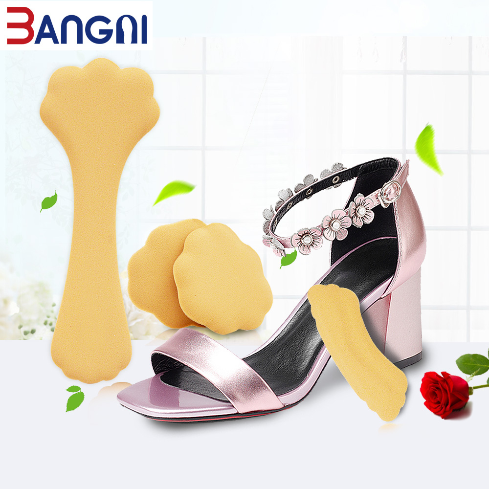 3ANGNI Poron High Heel Women Shoes Non Slip Ball Of Foot Cushion Foot Heel Protector  3/4 Pressure Relife Comfortable Insoles