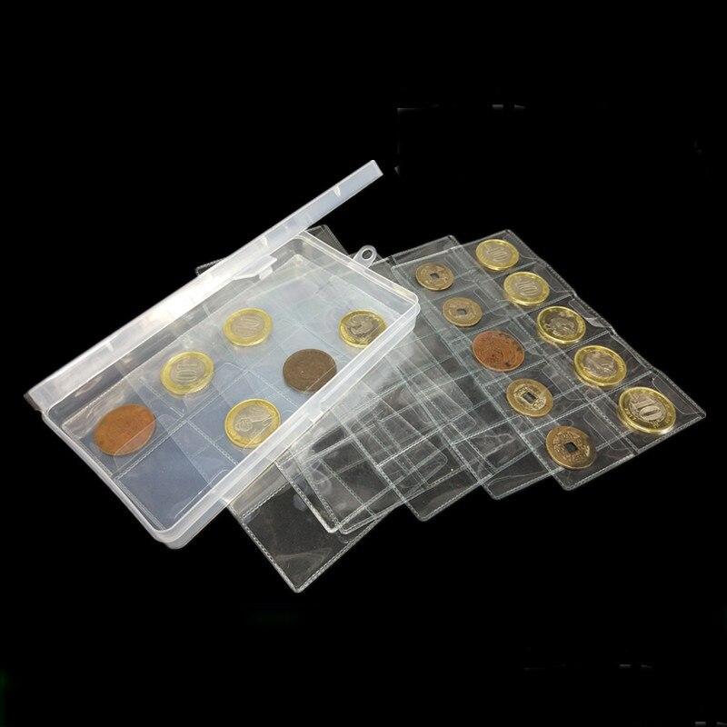 plastic coin holder