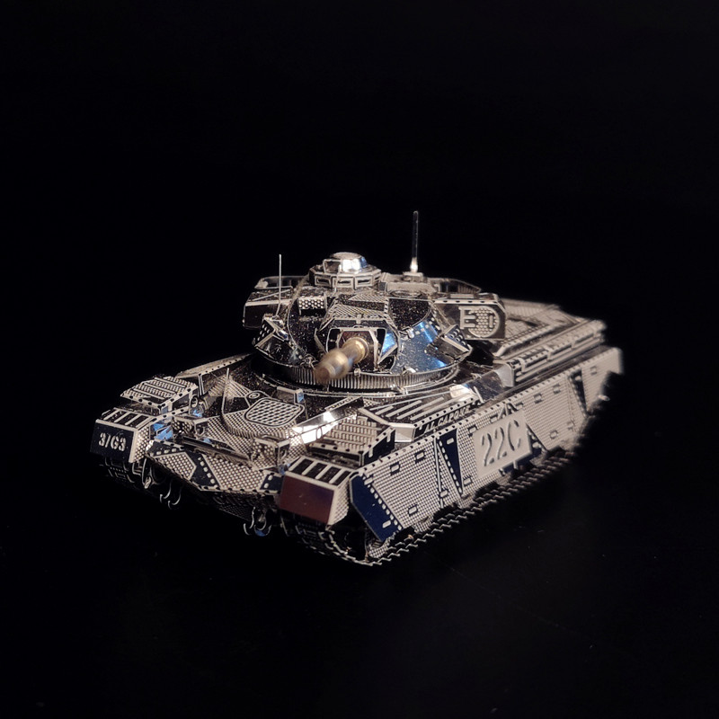 HKNANYUAN JS-2 TANK Model 3d Metal Assembly Model Creative Gifts Military Equipment Children's Hobbies Developing Intelligence
