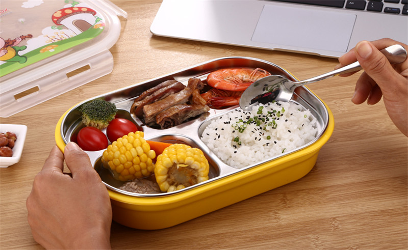 Plastic Food Containers Bento Box Lunch