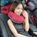 Nova TPU Inflável U Forma Almofada de Encosto De Cabeça Do Carro Suprimentos Encosto de Cabeça Do Carro Pescoço Almofada de Segurança Auto Tampas de Assento Do Carro Almofada de Encosto de cabeça