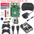 Raspberry Pi 3 Game Kit + 16G SD Card + Wireless Keyboard + Game Controller + Case + Power + Heat Sink +HDMI Cable for RetroPie