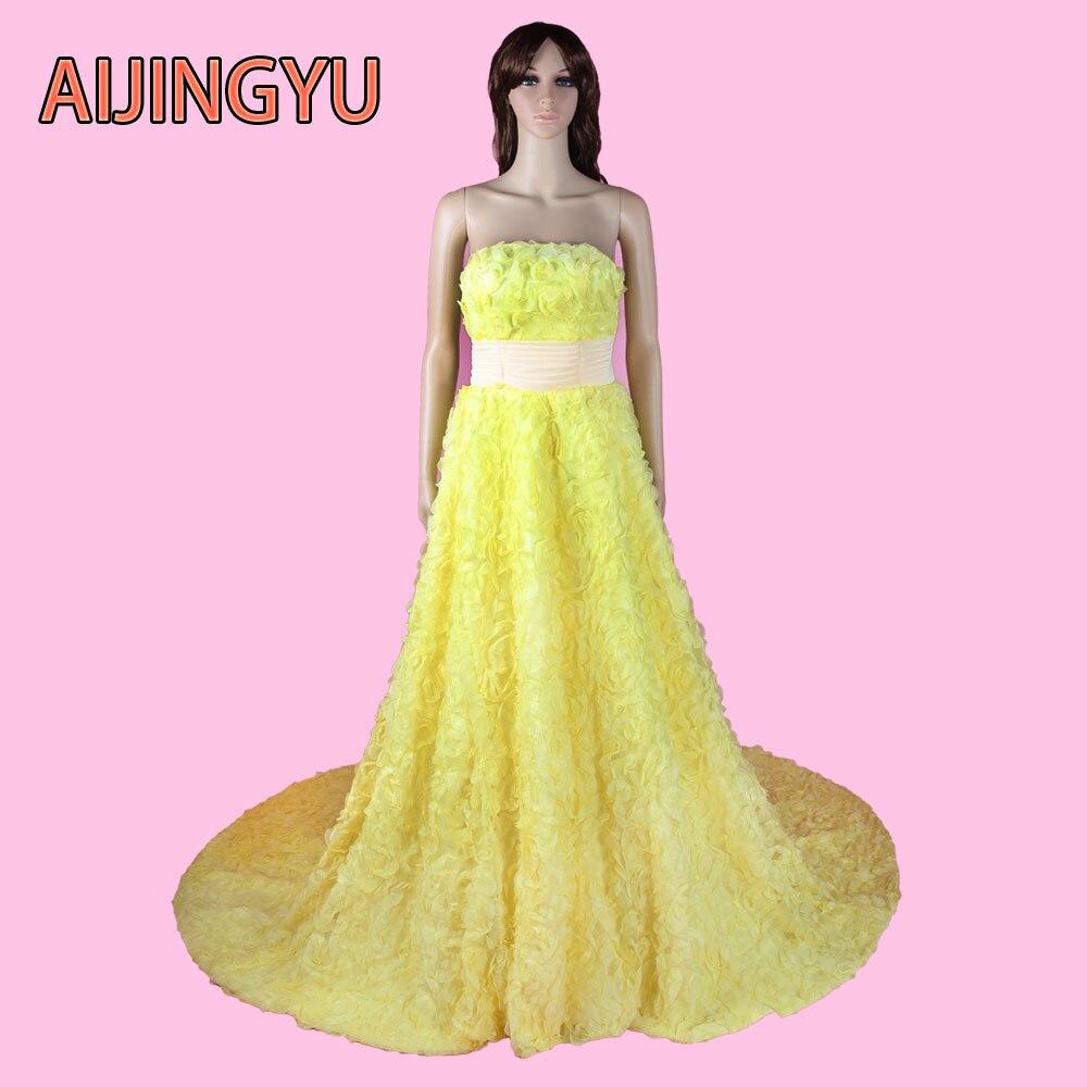 Promoción de Amarillo Vestido De Novia - Compra Amarillo Vestido De ...