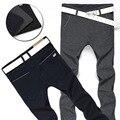 Calças Dos Homens Calças de Algodão Dos Homens de Negócios Casuais dos homens de moda Primavera Outono de Algodão Stretch Calças Compridas Pant Para O Homem ZM987