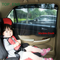 1pair,Free Shipping,Car Side Window Curtain,Held By Suction Cups,Easy Installation,2 Kinds Cloth:Visible or Invisible