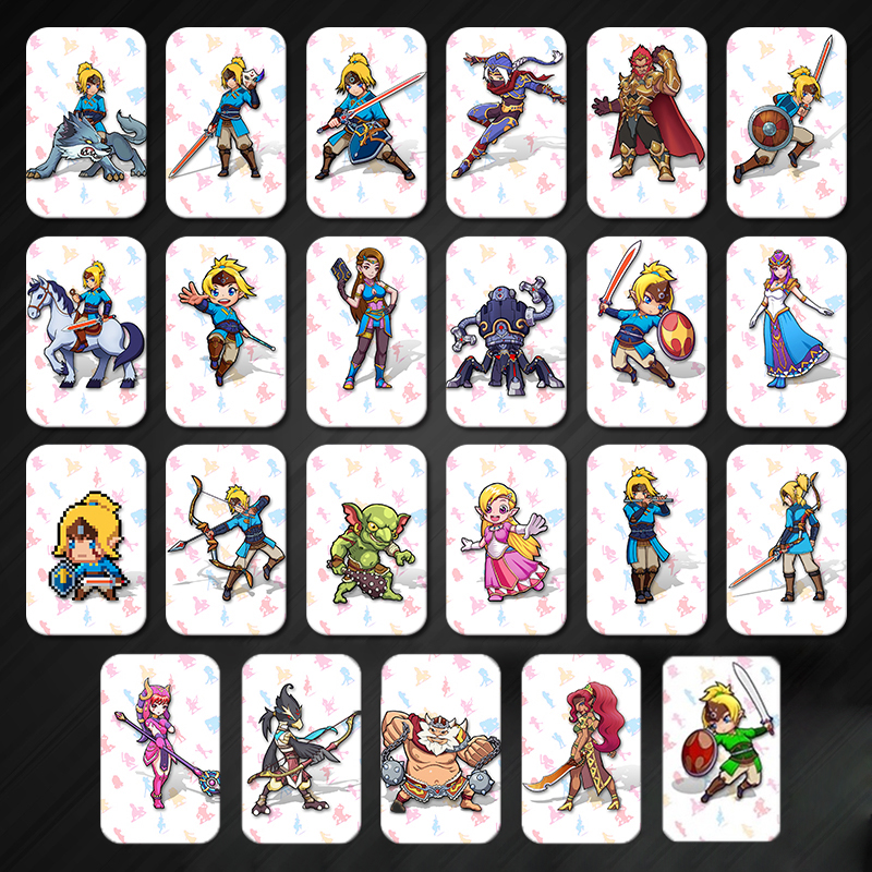 23PCS Full Set Amiibo Card For The Legend Of Zelda Breath Of The Wild Full Set