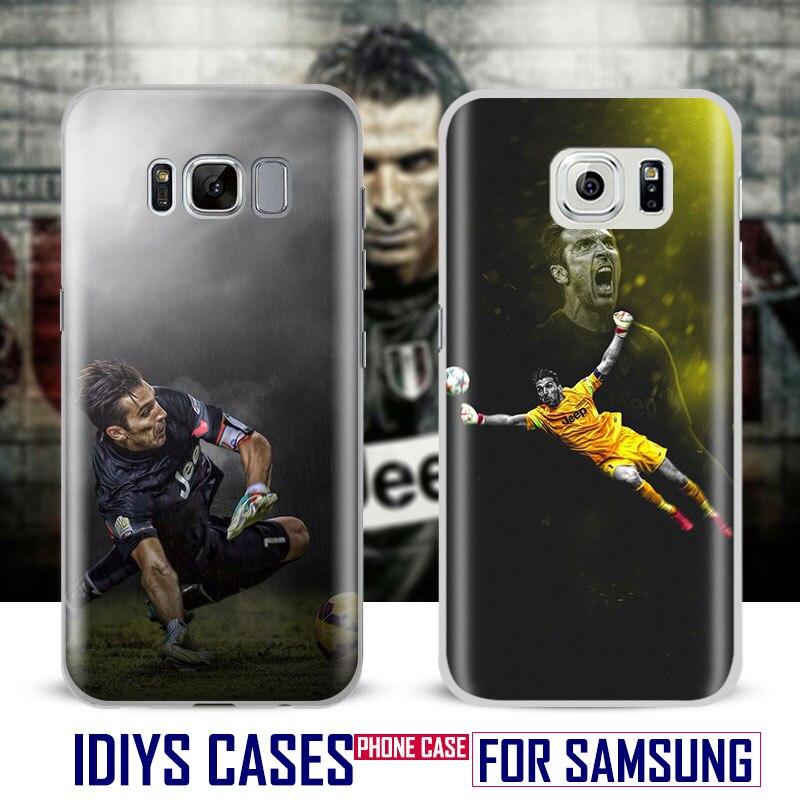 Gianluigi gigi Buffon For Samsung Galaxy S4 S5 S6 S7 Edge S8 Plus Note 8 2 3 4 5 A5 A710 J5 J7 2017 Phone Case Shell Cover Bag