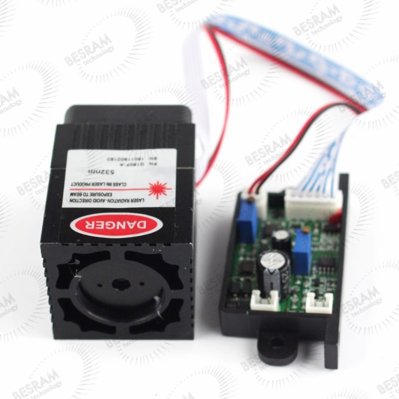 532nm 100mW-120mW 150mw-200mw Green Laser Module Diode TEC Fan TTL/Analog DPSS 12VDC 650nm 10mw 50mw 100mw 150mw 200mw laser line module for clothes cutting wood cutting mechanical positioning