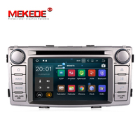 RK3188 Pure Android 7 1 Quad Core Car GPS Dvd Player Radio Vedio Stereo For Toyota