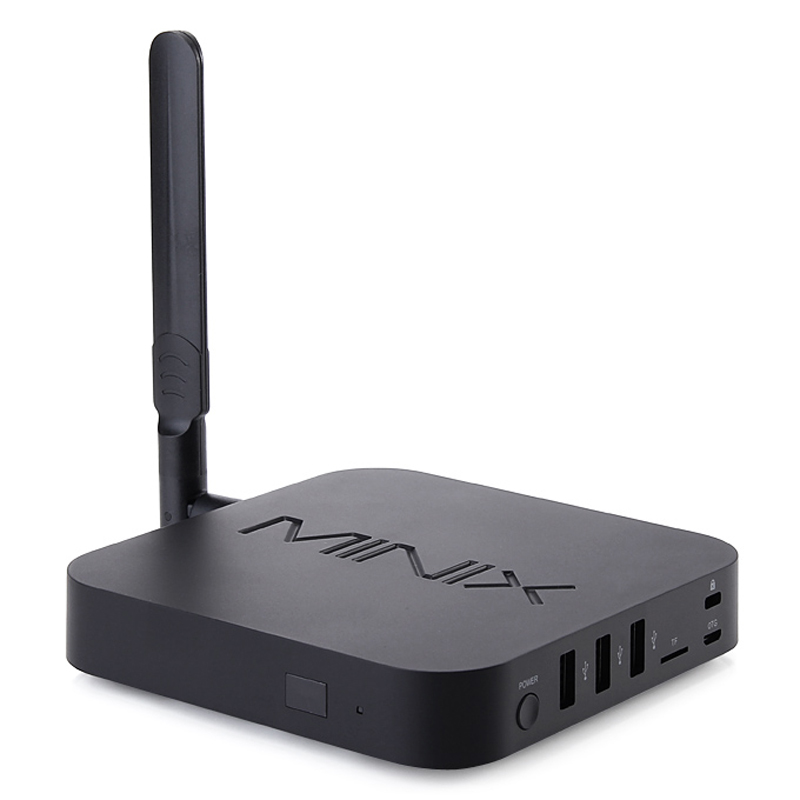 Minix NEO U1 Android Smart TV Box Amlogic S905 2G 16G 4K Media Player Dual Band Wfii Bluetooth H.265 Mini PC & A2 Lite Air Mouse