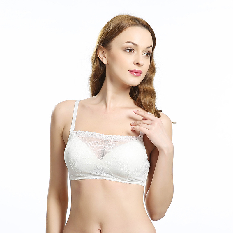 226adf1b96 Hot selling silk mulberry silk schappe silk lace wireless thin bra-in Bras  from Women s Clothing   Accessories