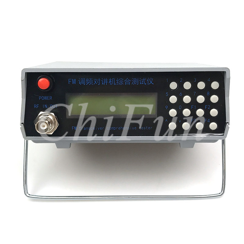 Freeshipping FM intercom comprehensive tester RF signal generator 1MHz 470MHz trunking tester Interphone tester