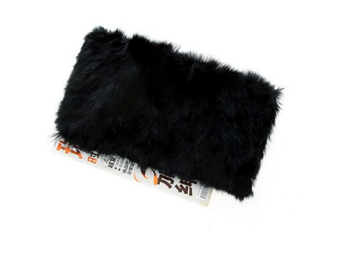 New 2018 Fashion Rabbit Fur Bags for Women Shoulder Bags Solid Ladies Crossbody Chain Bags for