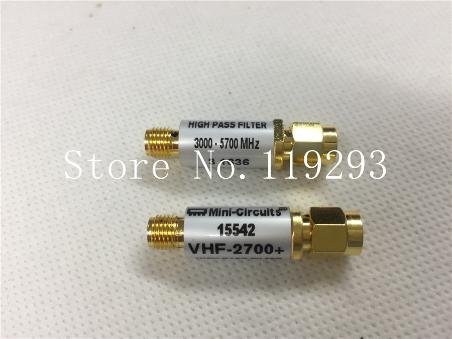 [BELLA] Mini-Circuits VHF-2700+ 2650-6500MHZ 50 RF Bandpass Filter SMA