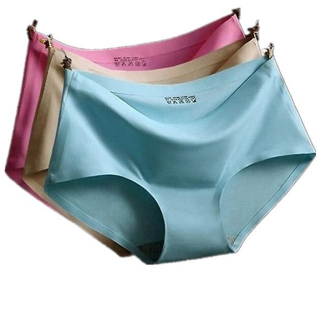5 PCS de Alta Qualidade Cuecas Mulheres Calcinha Sem Costura Sexy Roupa  Interior Cuecas Tanga 3520f8a7056