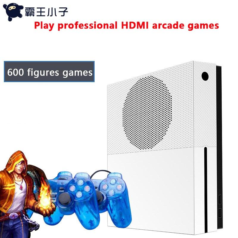 Accueil TV console de jeu vidéo HDMI HD 4G intégré 1000 jeux pour GBA/NES/Double nostalgique SFCS console de jeu d'arcade
