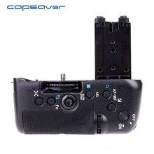 Capsaver Vertical Aperto Da Bateria para Sony A77 A77V A77 II A77 Mark II Câmera Substituir VG-C77AM Bateria Titular Trabalhar com NP-FM500H