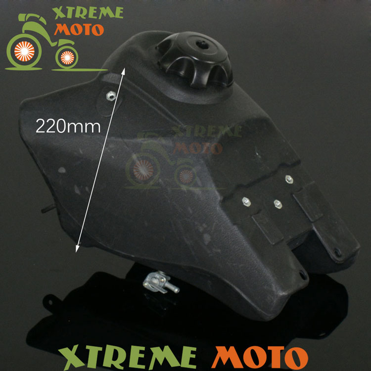Black New Fuel Gas Petrol Tank For Yamaha TTR110 Chinese 125cc Pit Dirt Bike Motocross Enduro Motorcycle Supermoto Off Road crf50 frame battery box dirt pit bike case holder off road motorcycle apollo 110 chinese motocross