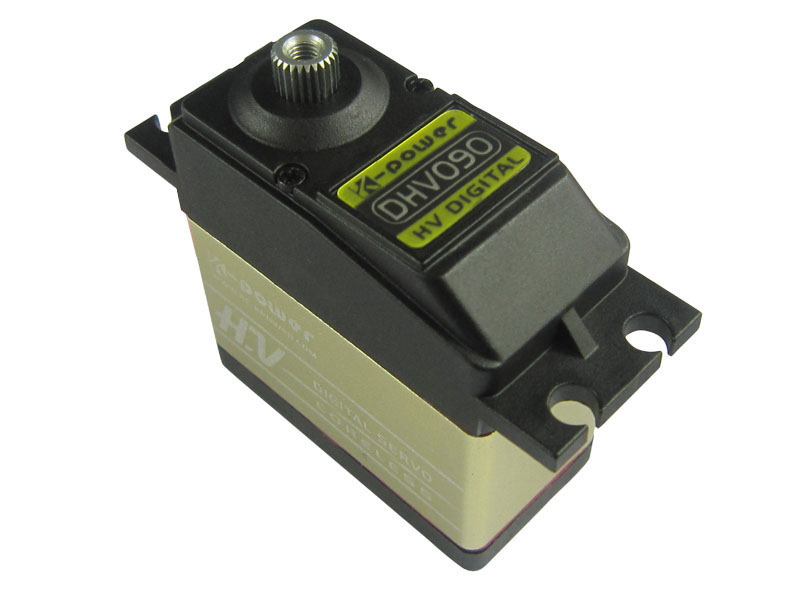 Servo de direction haute tension numérique 1/10 à échelle/dérive k-power DHV090 63g/9.8 kg/0.10sec (prise: JR)