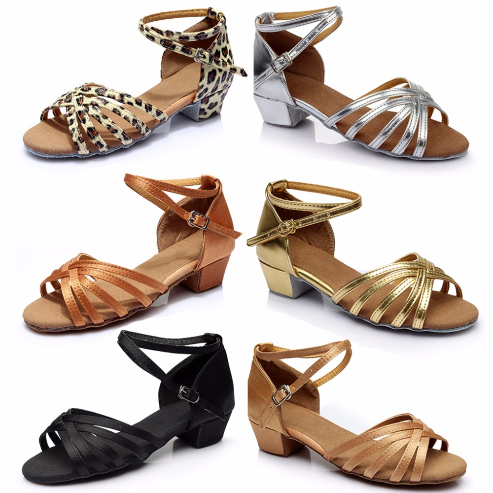 font b Tango b font Latin Low Heels Dancing Shoes Braided Strap Cross Buckle for