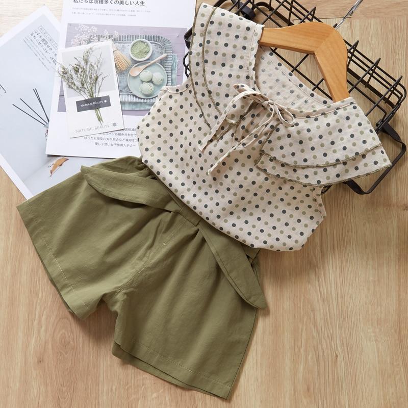 HTB1ImZNdEGF3KVjSZFvq6z nXXai Menoea Girls Suits 2020 Summer Style Kids Beautiful Floral Flower Sleeve Children O-neck Clothing Shorts Suit 2Pcs Clothes