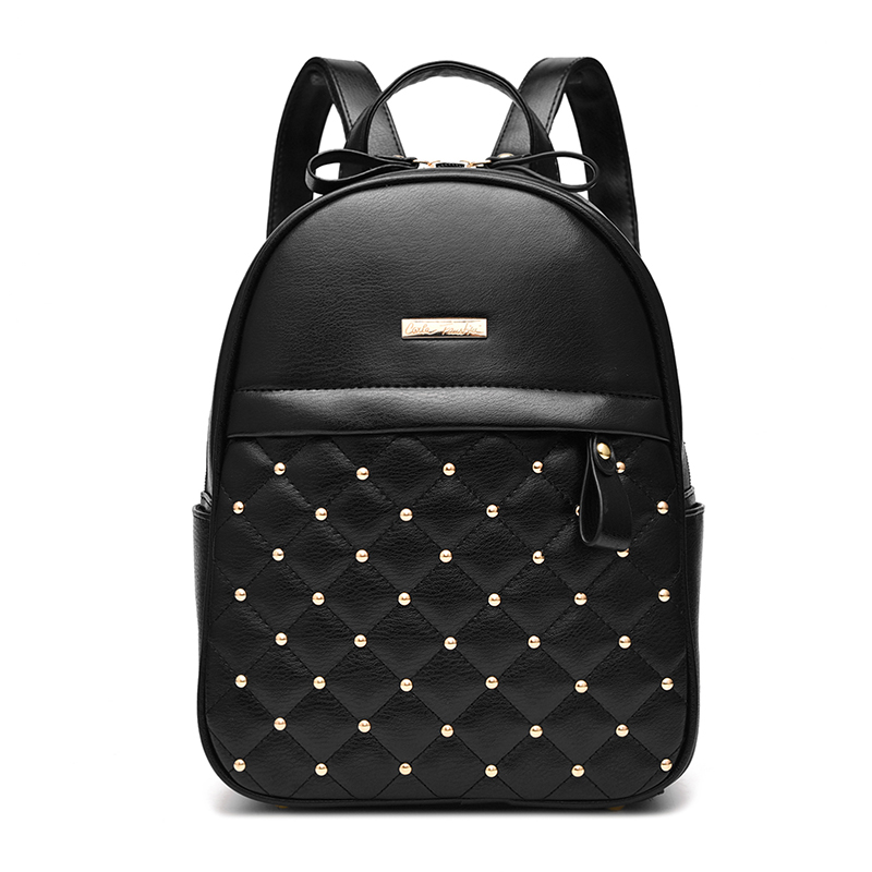 Size 28 22 13cm preppy style woman backpack Free Shipping 2017 new Go shape student fashion