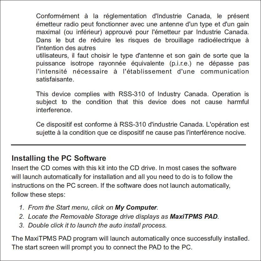 Autel MaxiTPMS PAD TPMS Sensor Programming Accessory Device (6)