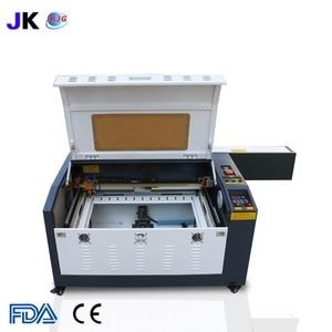 Image 2 - Máquina de grabado láser CO2 con mesa de trabajo arriba y abajo, 4060, 100W, Envío Gratis a Rusia, incluye impuestos y aranceles aduaneros