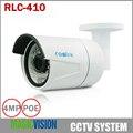 Reolink RLC-410 4MP 1440 P Bala 36 IR Luz 3.6mm Lente com POE Câmera IP Câmera de Segurança Ao Ar Livre