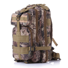 Outdoor sports fans camouflage Waterproof nylon backpack mountain hiking bag shoulder 3P tactical Backpack 12 colors