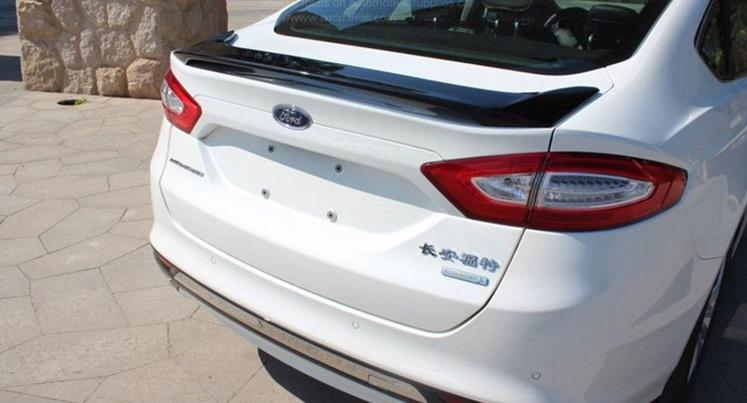 Diffe Colors Painted Abs Car Rear Trunk Spoiler Wing For Ford 2017 Mondeo Fusion No Drilling Needed In Spoilers Wings From Automobiles