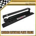 For Honda Mugen Imitation Carbon FIT ACCORD JAZZ JADE CSX FIT FD2 Adjustable Number License Plate Holder
