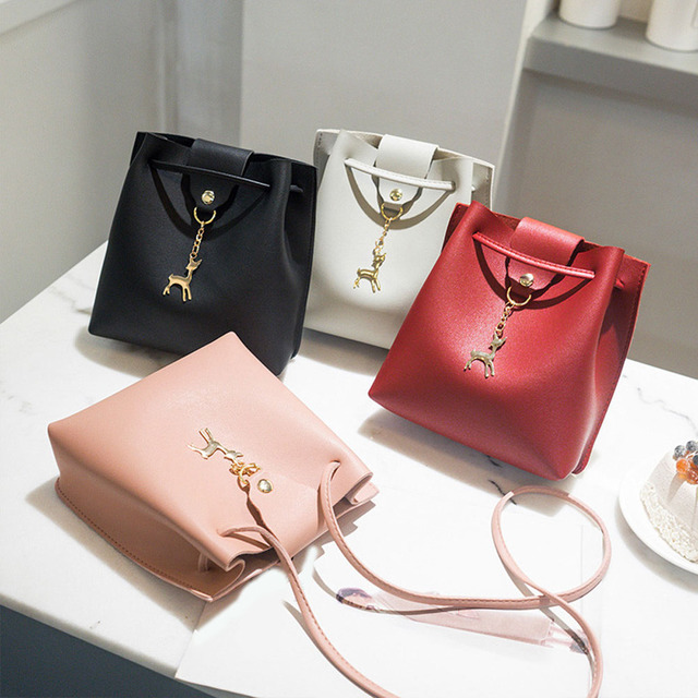 8a1969c49dfc Aliexpress.com : Buy 2018 New Fashion Women Solid Color Cute Shoulder Bags  Ladies PU Leather Mini Crossbody Bags Female Casual Messenger Bag from ...