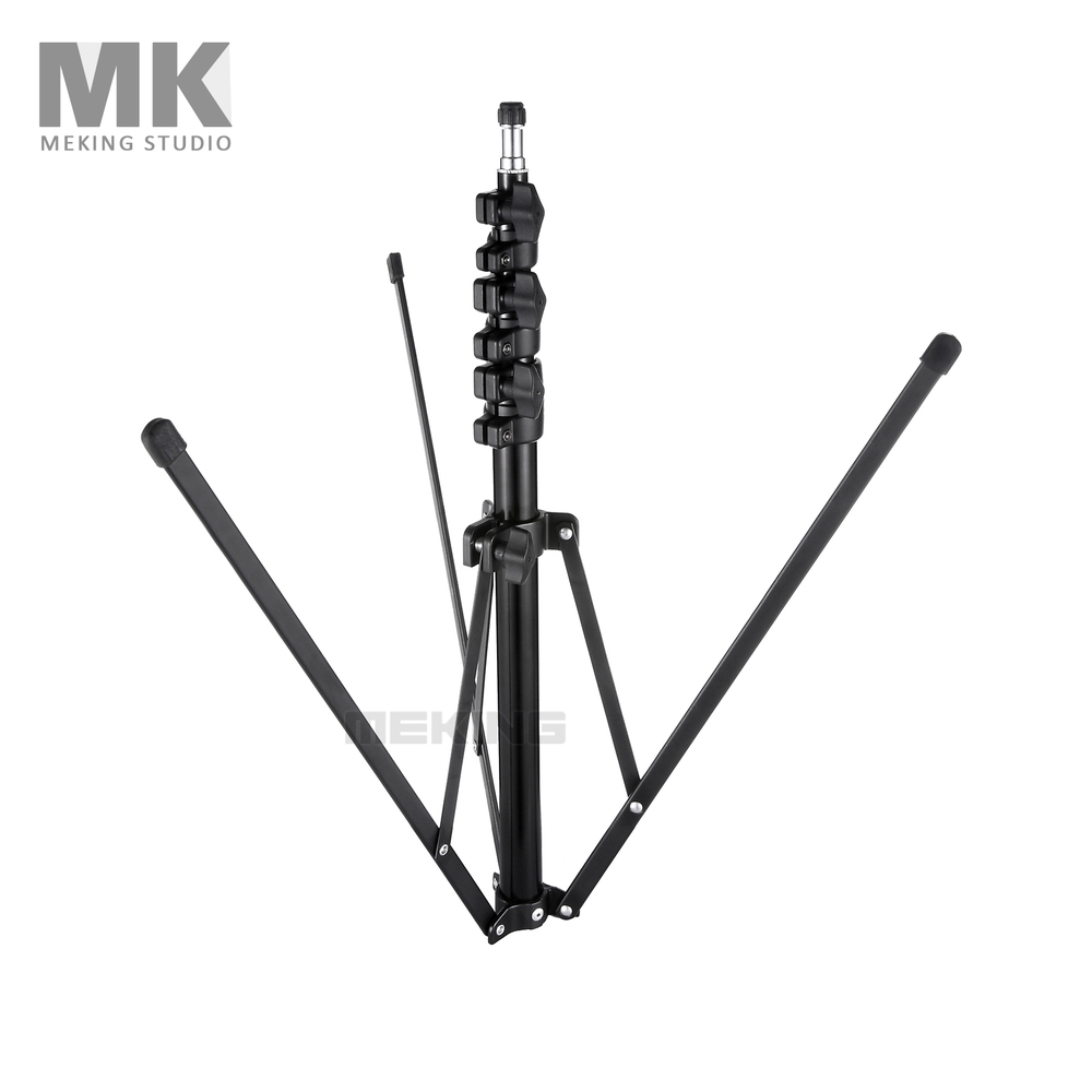 Meking Collapsible Light Stand 200cm 6 6 L 1700 tripod for font b Photo b font