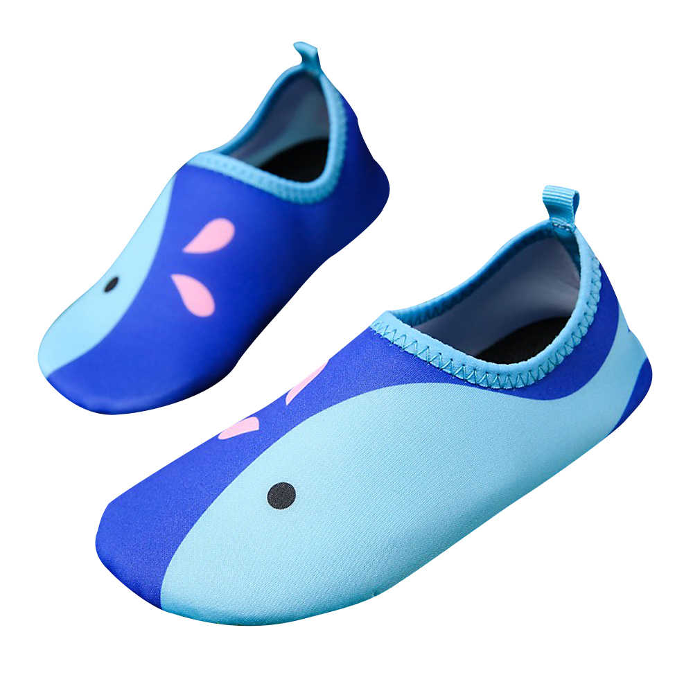 11c5ef75bc Children Outdoor Swimming Shoes Breathable Summer Beach Socks Water Shoes  Boys Girls Aqua Shoes Socks Kids Quick Drying Slippers