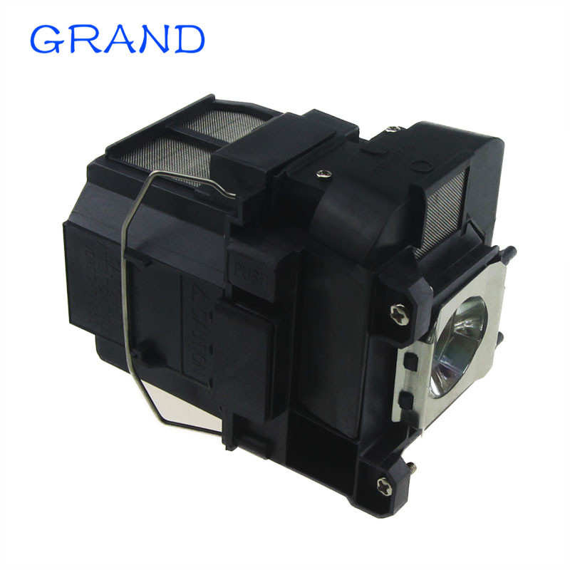 ELPLP75 Compatible Projector lamp for EPSON PowerLite 1940W 1945w EB-C760X EB-754XN EB-750X EB-1945W With Housing HAPPY BATE elplp74 for eb 1930 powerlite 1930 powerlite 1935 compatible lamp with housing free shipping
