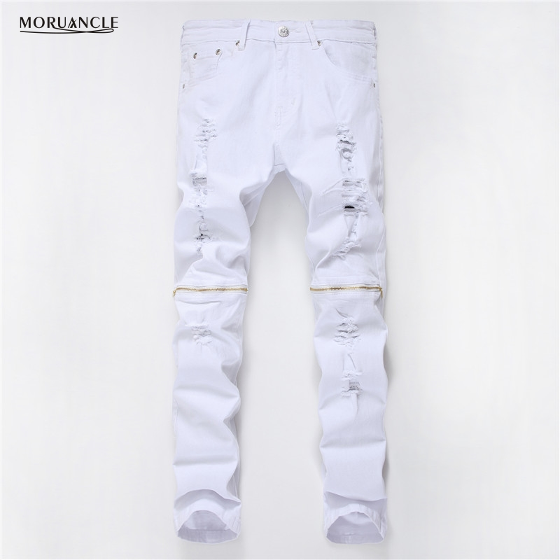 Compare Prices on Mens White Jeans Pants- Online Shopping/Buy Low ...