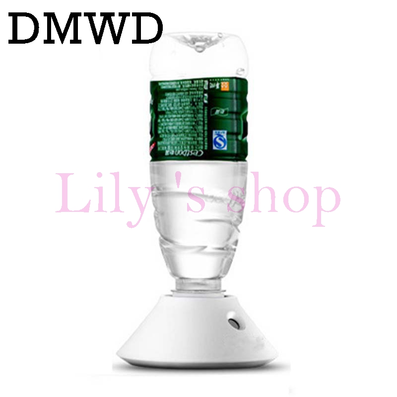 DMWD MINI Portable Aroma Ultrasonic Humidifier USB Essential oil Air Diffuser Mineral water bottles Mist Maker Fogger light Lamp