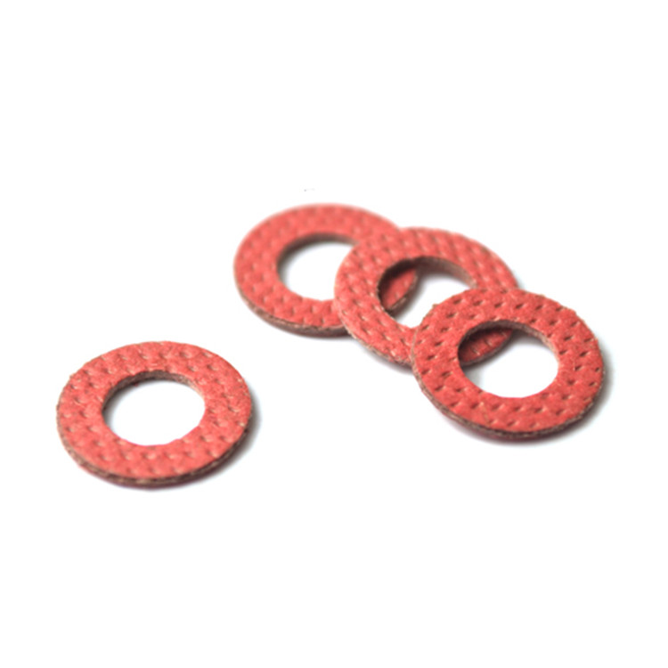 100pcs Red Insulating Fiber Washer Standard Metric Flat Washers M2 ...
