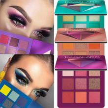 Nine-Color Mixed Eye Shadow Palette Smudge-Proof Waterproof Matte Shimmer