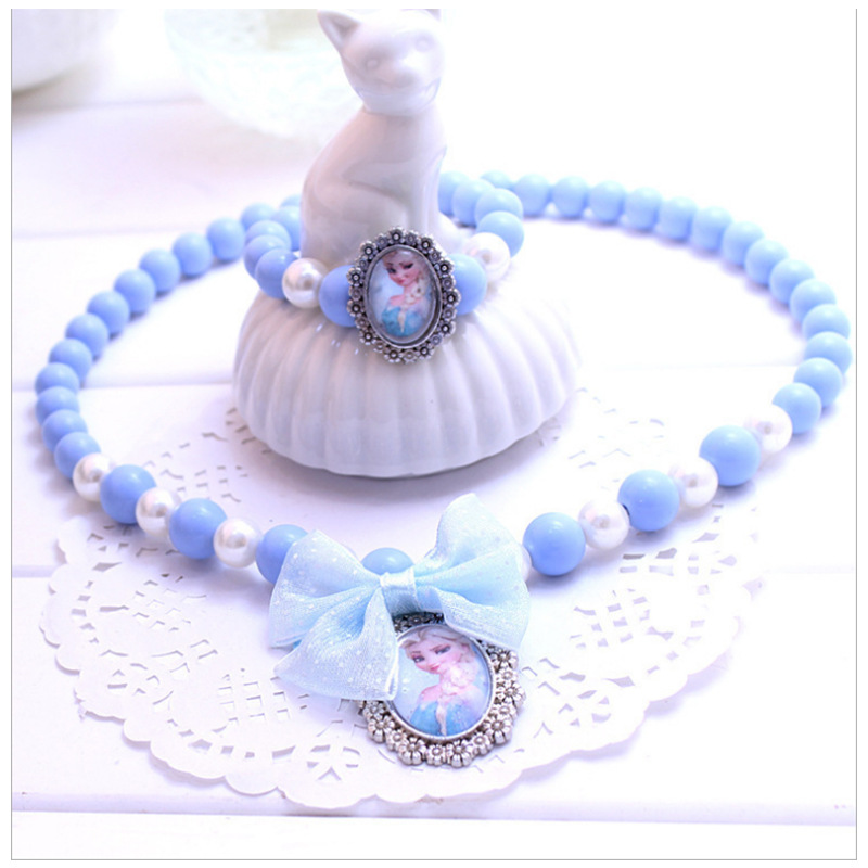 Disney Children's Necklace Pendant Ball Frozen Toy Girl Girl Games Play Games For Girls Girls Toys Frozen Kids Birthday Gift