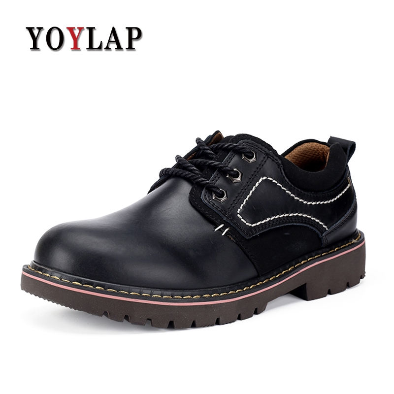 High Quality Mens Oxford Shoes Genuine Leather Dress Shoes Casual Black Walking Flats Lace Up Mens Formal Dress Oxford oxford borboniqua oxford