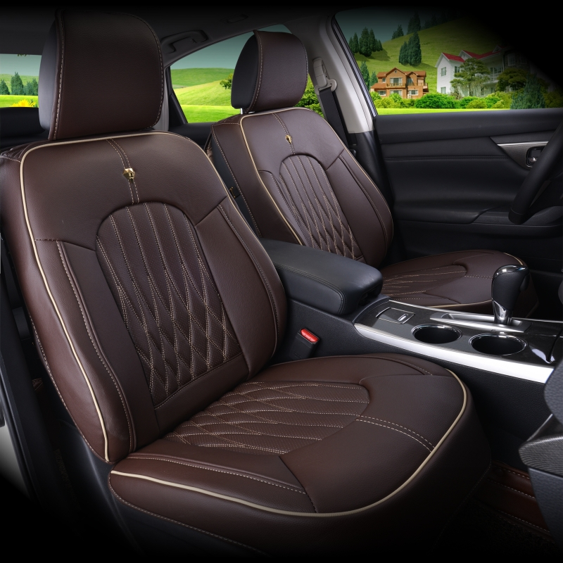 High Quality Custom Models 100 Leather Car Seat Covers Fashion